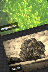 Simple hover effects with CSS(webkit) filters